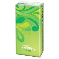 Kleenex Balsam Pocket Pack Sngl's (9 Tissues)