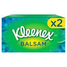 Kleenex Balsam Tissues Regular Twinpack 72S