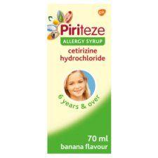 Piriteze Allergy Syrup 70ml
