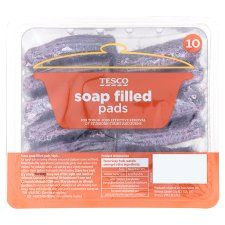 Tesco Soap Filled Pads 10 Pack