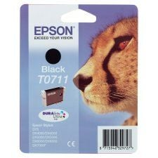 Epson T0711 Cheetah Black