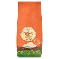 Tesco Light Brown Soft Sugar 1kg Pack