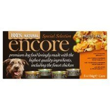 Encore Dog Food Special Selection Tins 5X156g