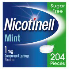 Nicotinell 1Mg Nicotine Mint Lozenges 204S