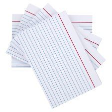 Tesco Large Record Cards 100 Pack