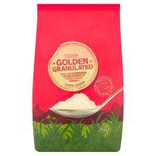 Tesco Golden Granulated Sugar 2kg Pack