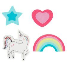 Tesco Unicorn Unicorn Erasers 4 Pack