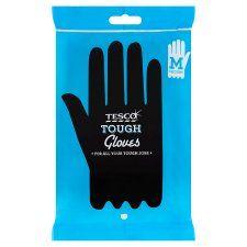 Tesco Tough Household Gloves Medium 1 Pair