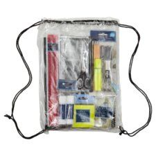 Tesco Stationery Essentials Draw String Backpack