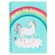 Tesco Dreamer Born To Sparkle A4 Notebook