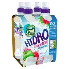 Robinsons Fruit Hydro Apple and Raspberry 4X350ml