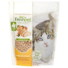 Freshpet Roasted Chicken and Vegetable Fresh Cat Food 907g
