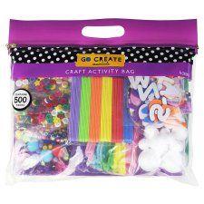 Go Create Craft Activity Bag 500 Pieces