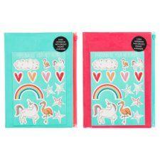 Tesco Dreamer Ziplock Notebook and Stickers
