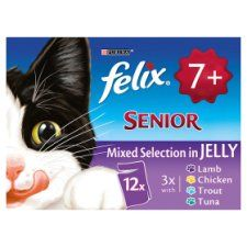 Felix Senior Mixed Selection In Jelly 12X100g
