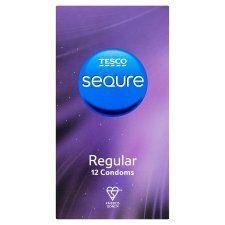 Tesco Sequre Regular Condoms 12S