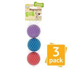 Good Boy Sponge Balls Dog Toy 3 Pack