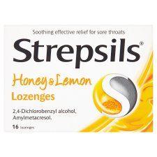 Strepsils Honey and Lemon 16S