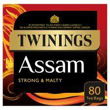 Twinings Assam Tea Bags 80S 200g