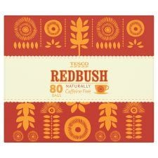 Tesco Redbush 80 Tea Bags 200g