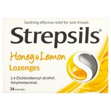 Strepsils Honey and Lemon 36S
