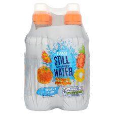 Tesco Still Water Orange & Pineapple No Added Sugar 4 X 300ml