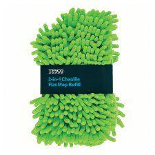 Tesco 2 In 1 Flat Mop Refill