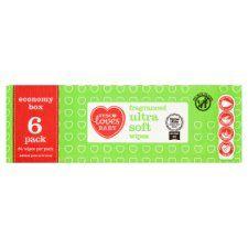 Tesco Loves Baby Fragranced Baby Wipes 64X6