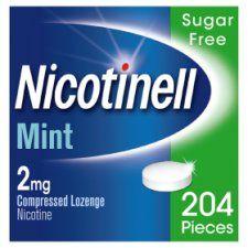 Nicotinell 2Mg Nicotine Mint Lozenges 204S