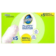Pledge Fluffy Duster Refills 5 Pack