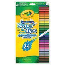Crayola Supertips 24 Pack