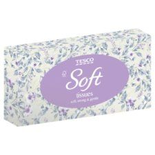 Tesco Soft Regular Tissues 72S