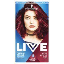 Schwarzkopf Live Intensive Color 086 Pure Purple Hair Dye