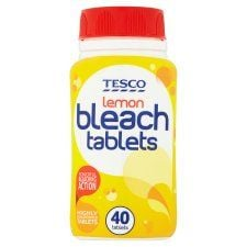 Tesco Lemon Bleach Tablets X40 160g