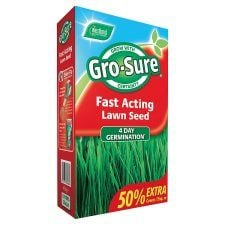 Gro Sure Fast Acting Lawn Seed 450g (15Sqm)