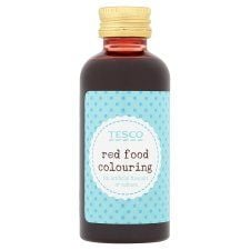 Tesco Red Food Colouring 60ml