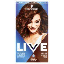 Schwarzkopf Live Intensive Color 088 Urban Brown Hair Dye