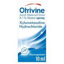 Otrivine Adult Metered Dose Nasal Spray 10ml