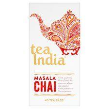 Tea India Masala Chai 40 Tea Bags 100g