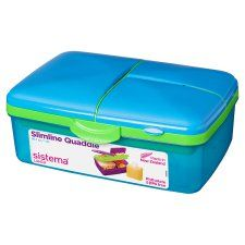 Sistema Quaddie Lunchbox Blue/Green