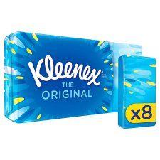 Kleenex Original Pocket Tissues 8 Pack