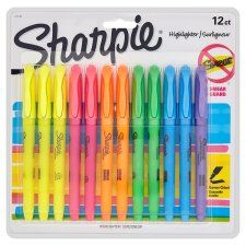 Sharpie Highlighter Asstd 12 Pack