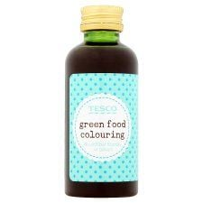 Tesco Green Food Colouring 60ml