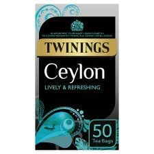 Twinings Ceylon 50 Teabags 125g