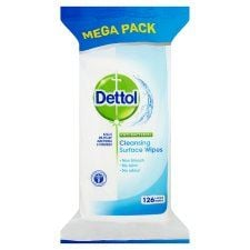 Dettol Surface Cleanser 110  Antibacterial Wipes
