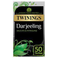 Twinings Darjeeling 50 Teabags 125g