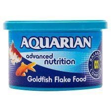 Aquarian Goldfish Flake Fish Food 50g