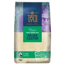 Tate and Lyle Golden Caster Sug Fair Trade 1kg