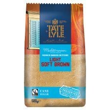 Tate and Lyle Fairtrade Light Brown Sugar 500g