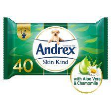 Andrex Moist Skin Kind Refill 40 Sheet